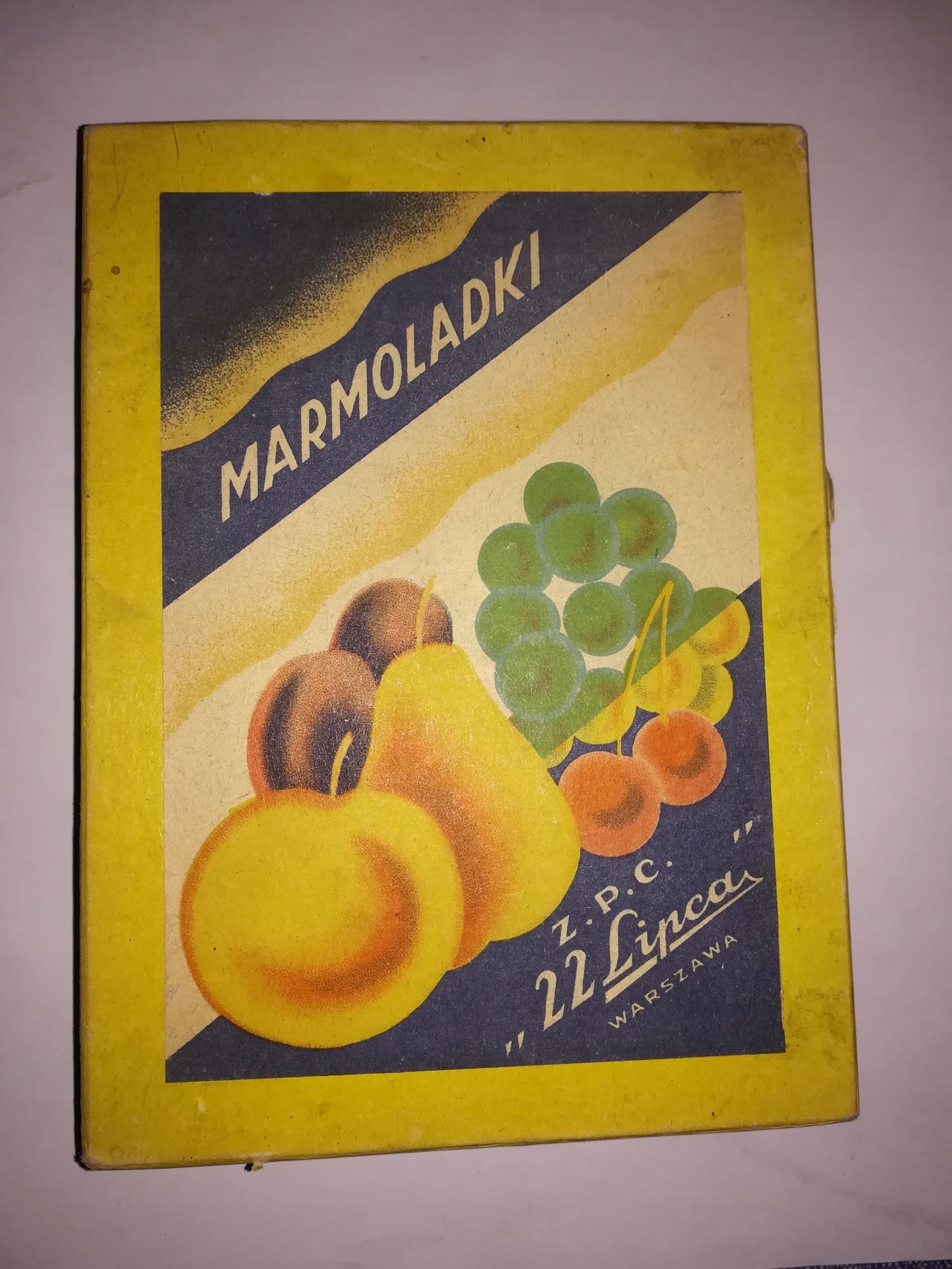 Pudełko po czekoladkach Wedel 1964