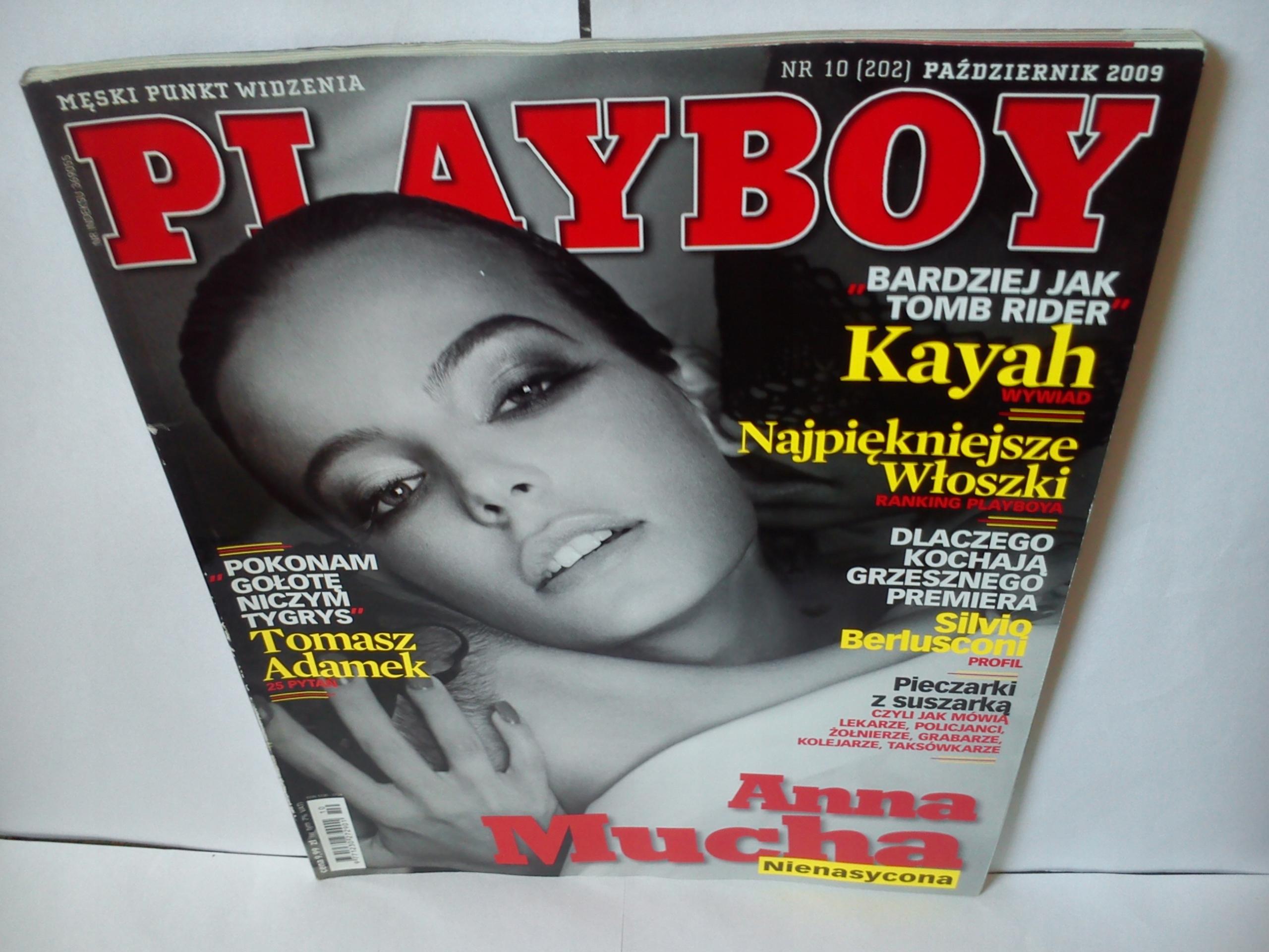 Anna Mucha Playboy playboy 10(202)2009 aktorka anna mucha nago !!!!!!