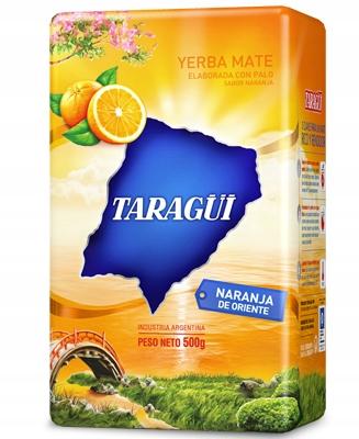 Yerba Mate Taragui Naranja de Oriente 500g
