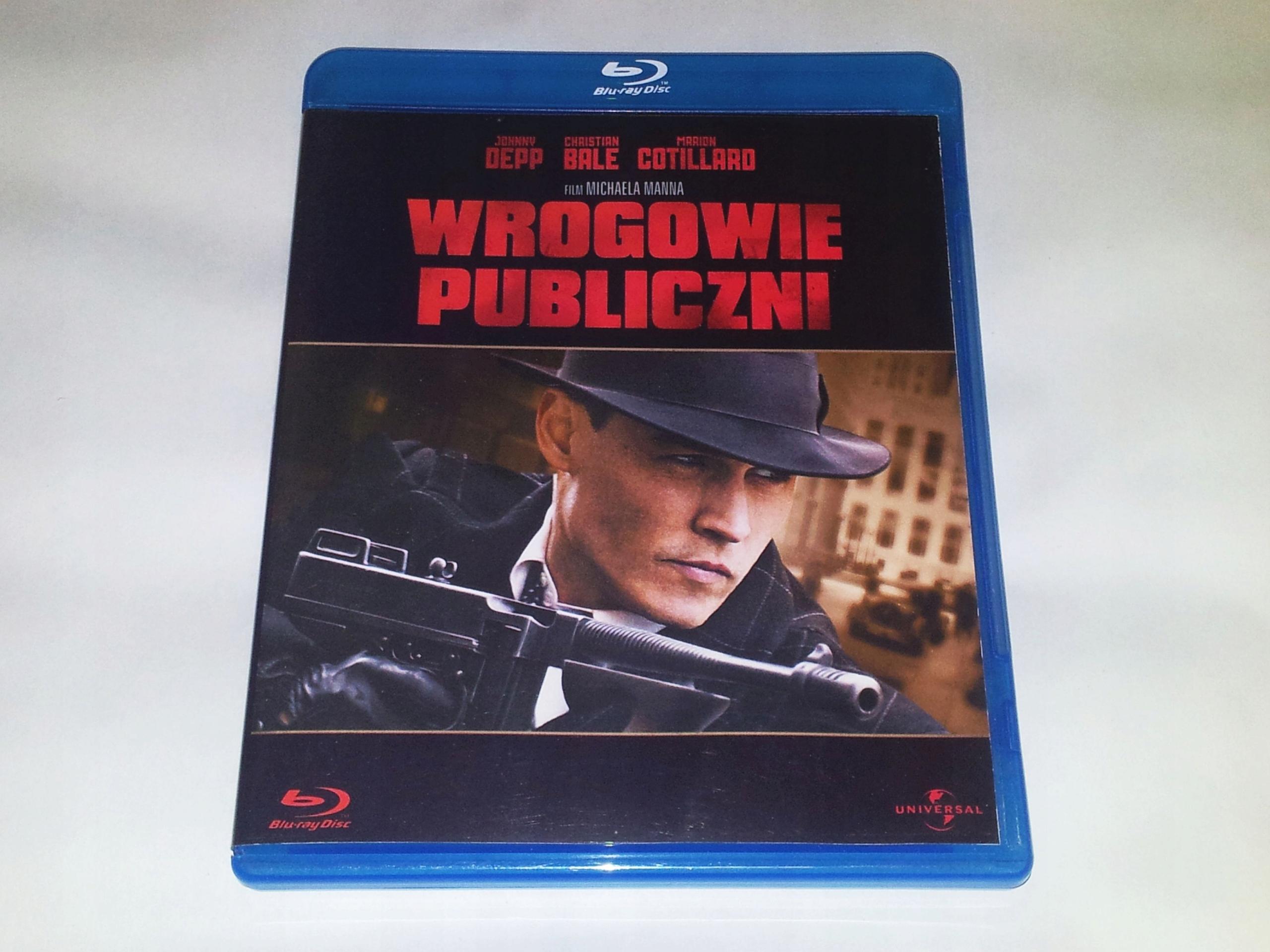 Wrogowie Publiczni - Blu-ray - PL - Johnny Depp