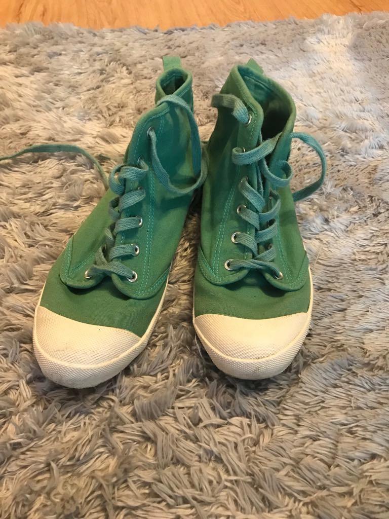 Trampki H&M zielone 38