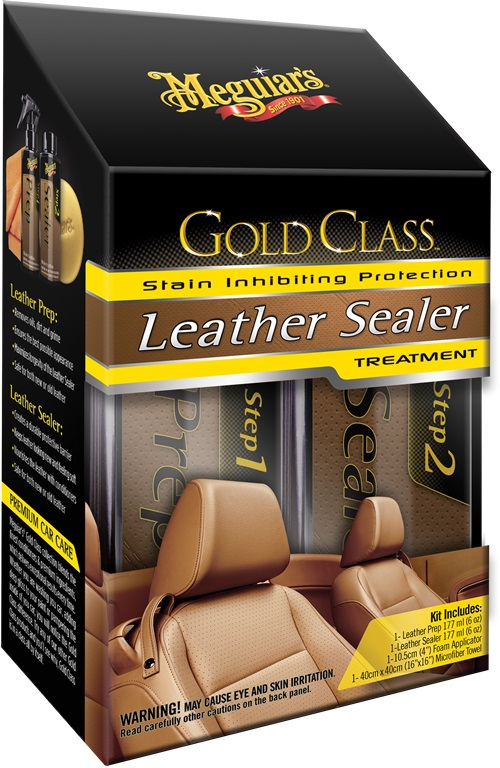 Meguiar's Gold Class Leather Sealer DO SKÓRY!