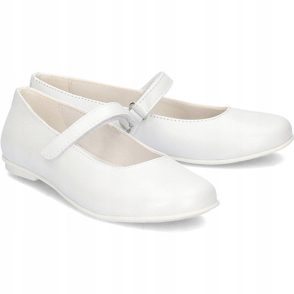 PRIMIGI 1436622 Białe Baleriny R.38