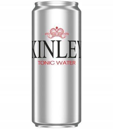 Tonic Water KINLEY 330ml Napój gazowany Puszka