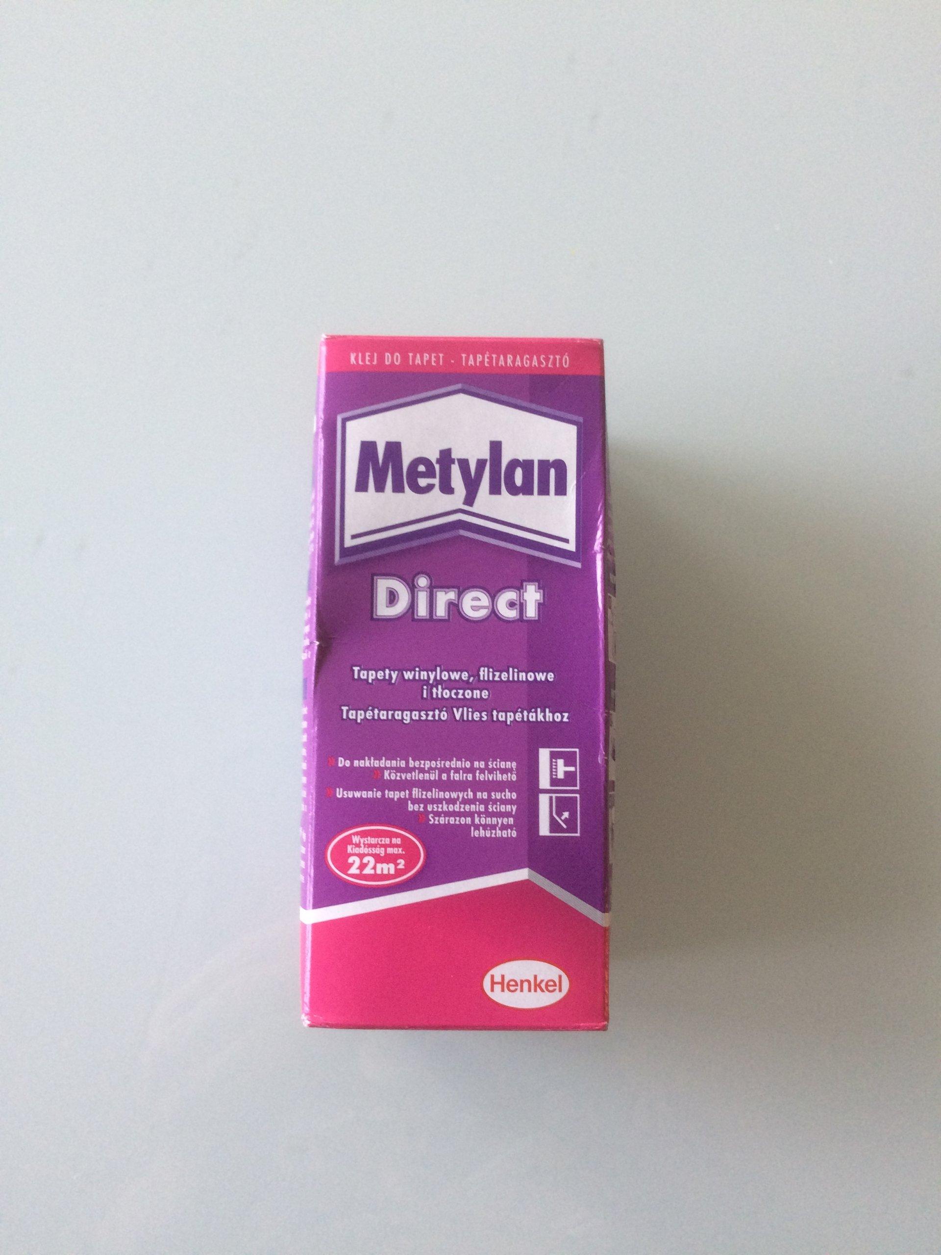 klej do tapet na flizelinie metylan direct 200g - 7150870174