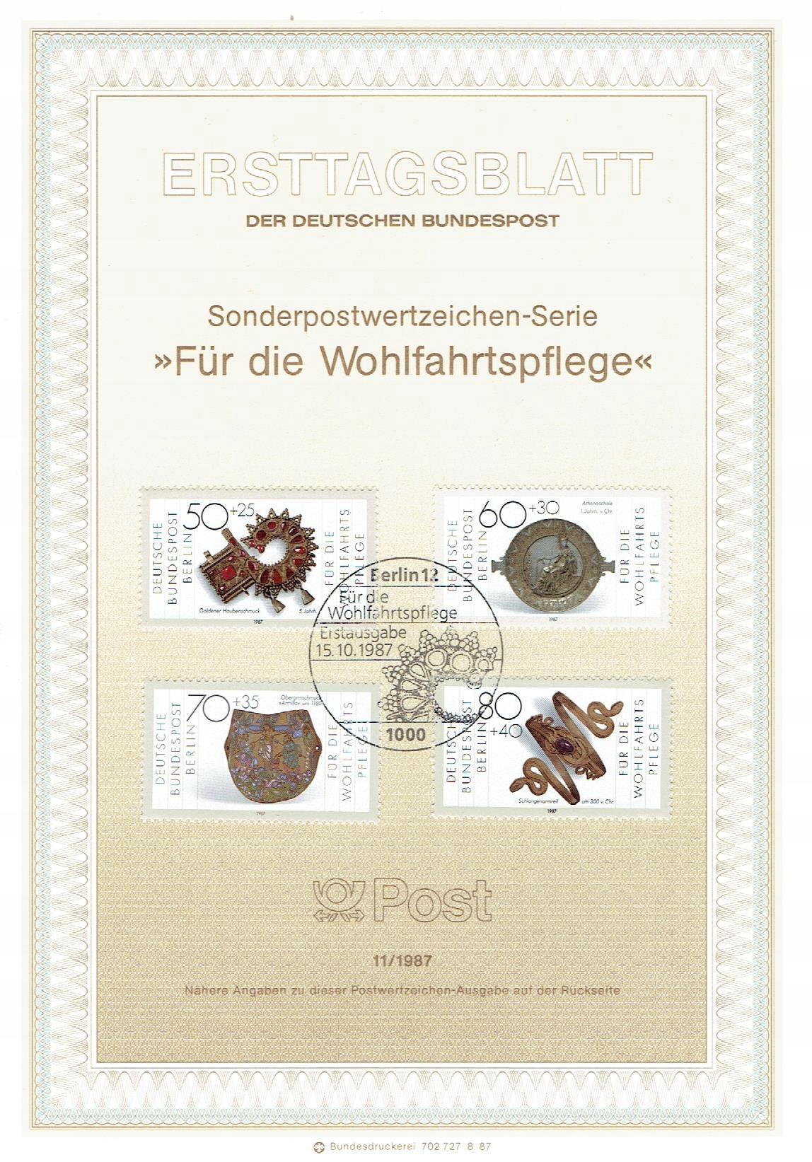 Berlin Zach. - złotnictwo - Mi. 789-92 ETB