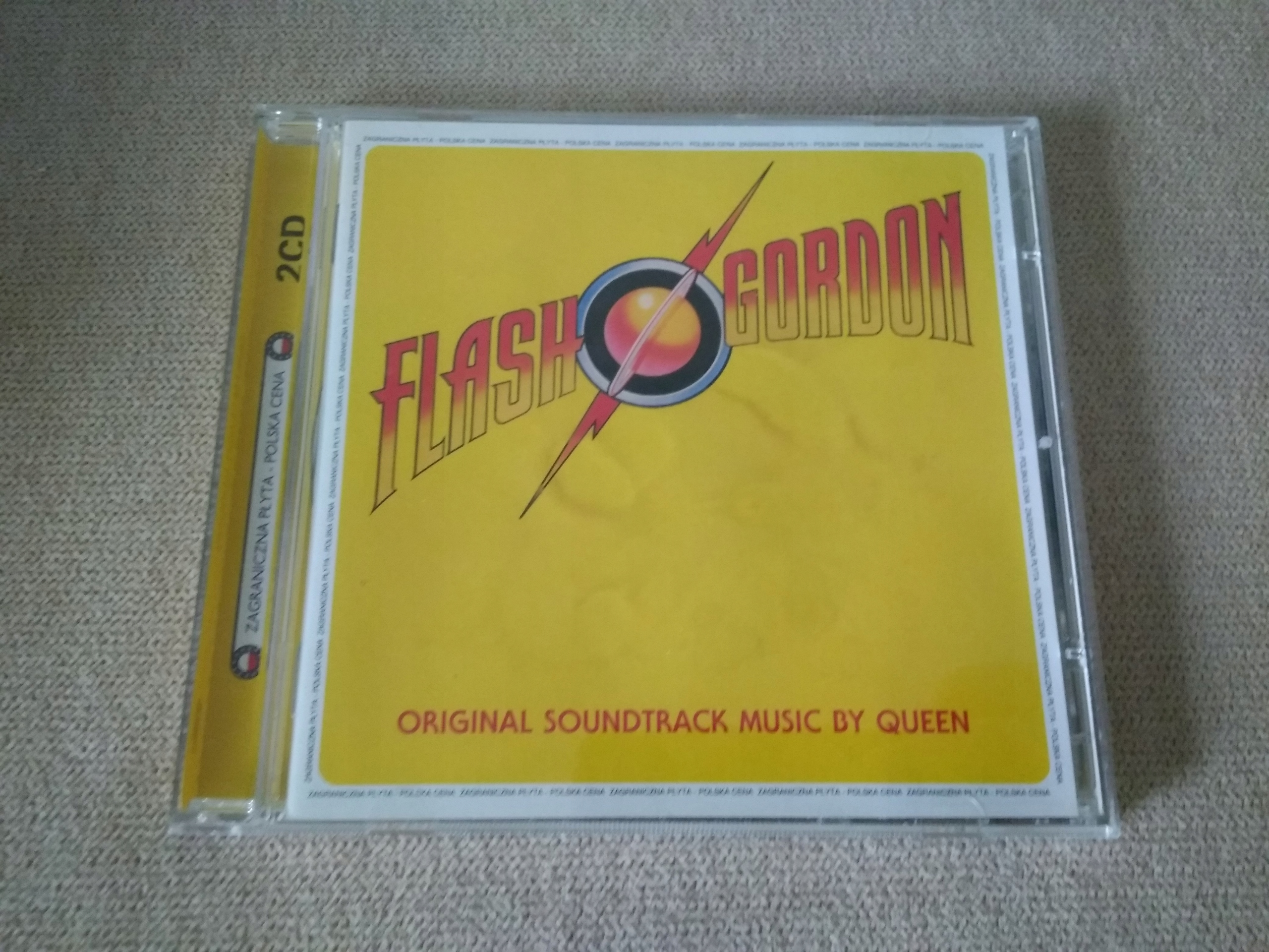QUEEN FLASH GORDON CD BCM !