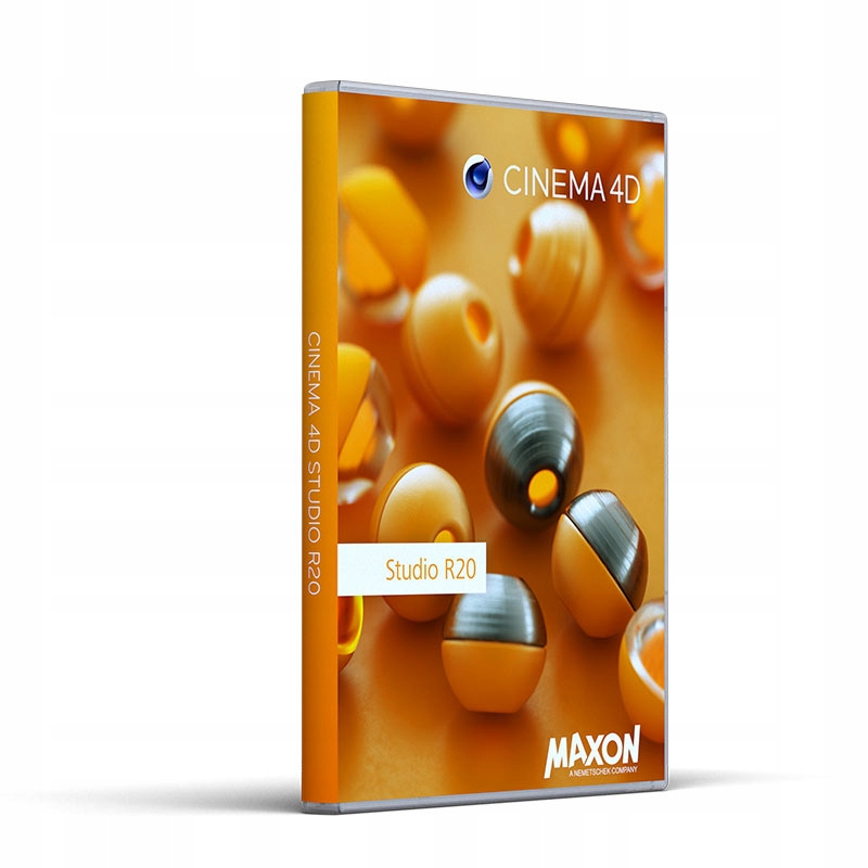 MAXON CINEMA 4D Studio R20 (20 2 00)