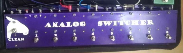 Analogowy Switcher/Looper
