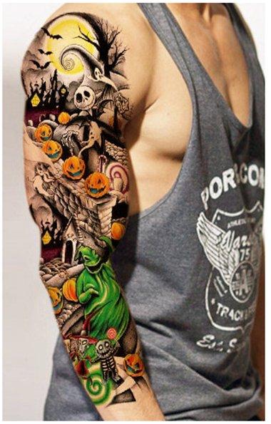 Tatuaż Tymczasowy Wodoodporny 44wzory 2 Gratis