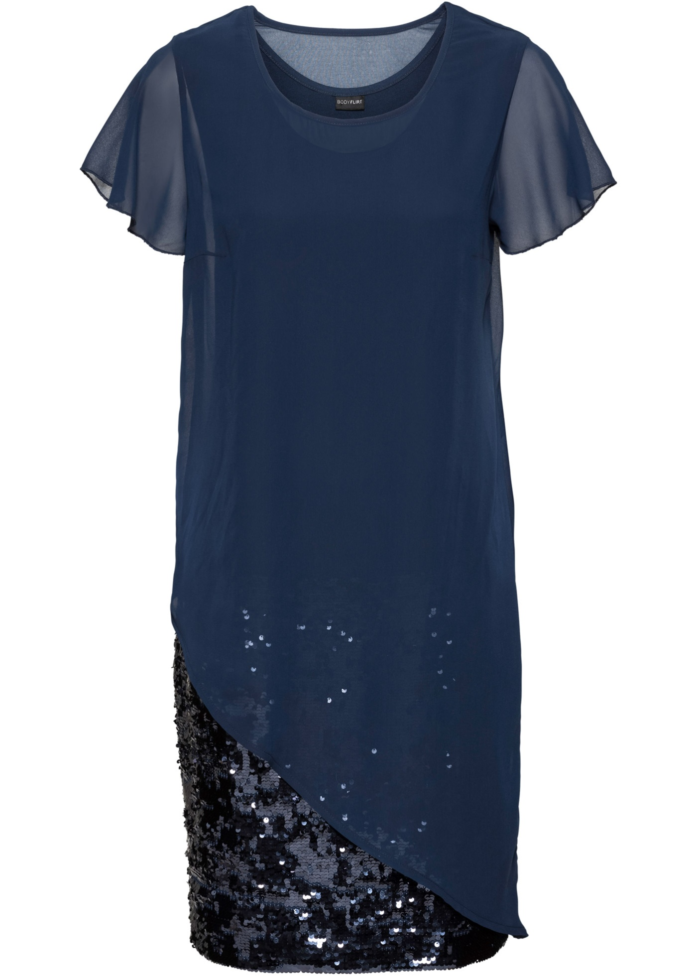 N10 BPC Sukienka z dżerseju z cekinami 44/46