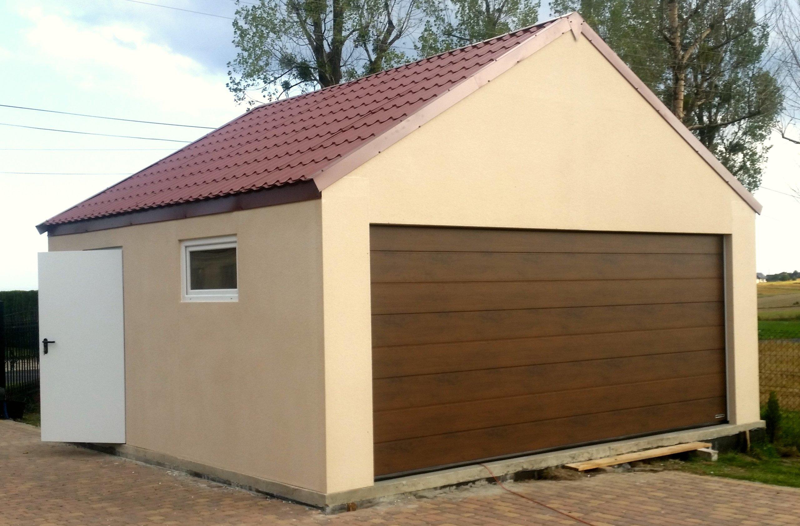Garaż 35m2 Tynkowany Ocieplany 2 Auta Roanbudpl 7359558266