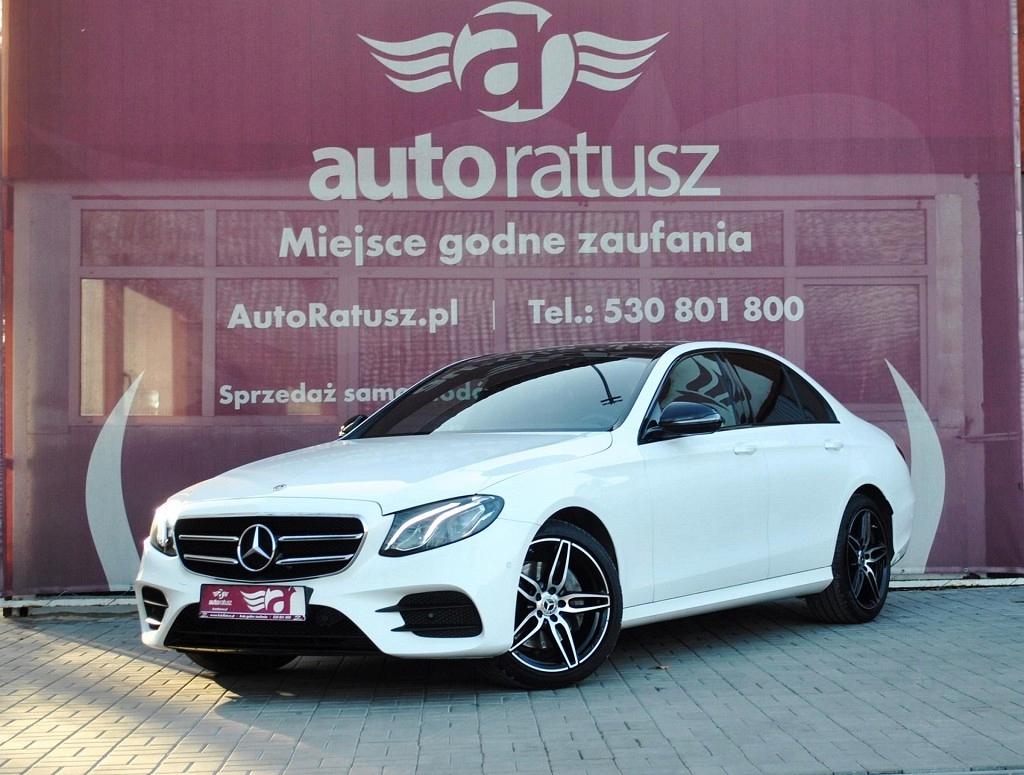 Mercedes E 220 Faktura Vat 23% Pakiet AMG samochód