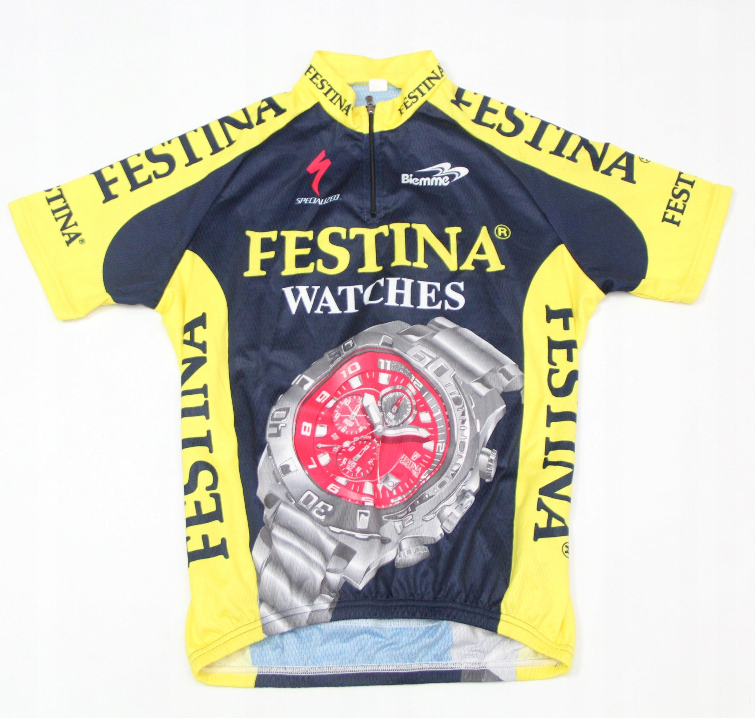 Koszulka Rowerowa Biemme Specialized FESTINA WATCH
