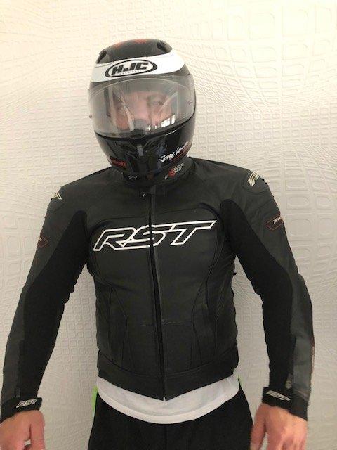Kombinezon motocyklowy RST! Kask HJC ! Rękawice!