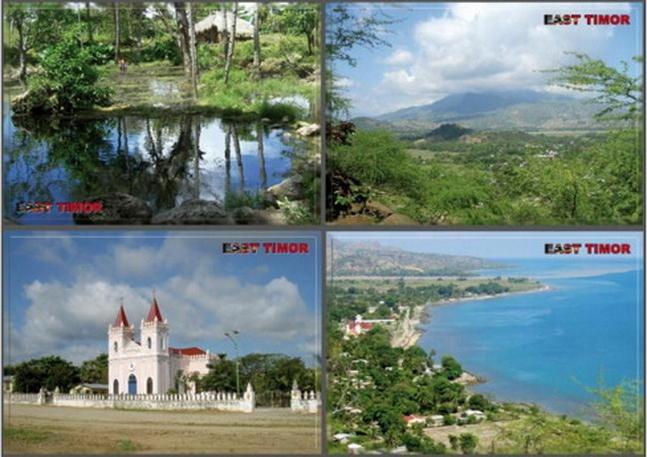Zestaw 10x Wyspa Timor Timor Wschodni