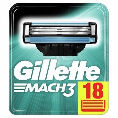 GILLETTE MACH 3 WYMIENNE OSTRZA DO MASZYNKI 4 SZT.