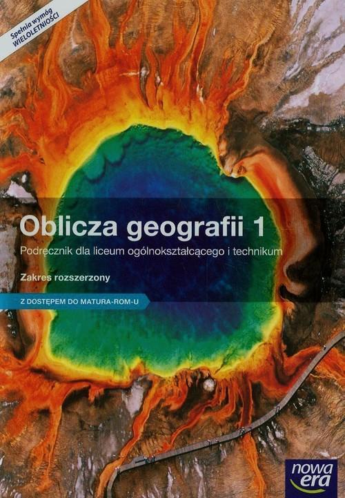 Oblicza geografii 1 Podręcznik Zakres rozszerzony