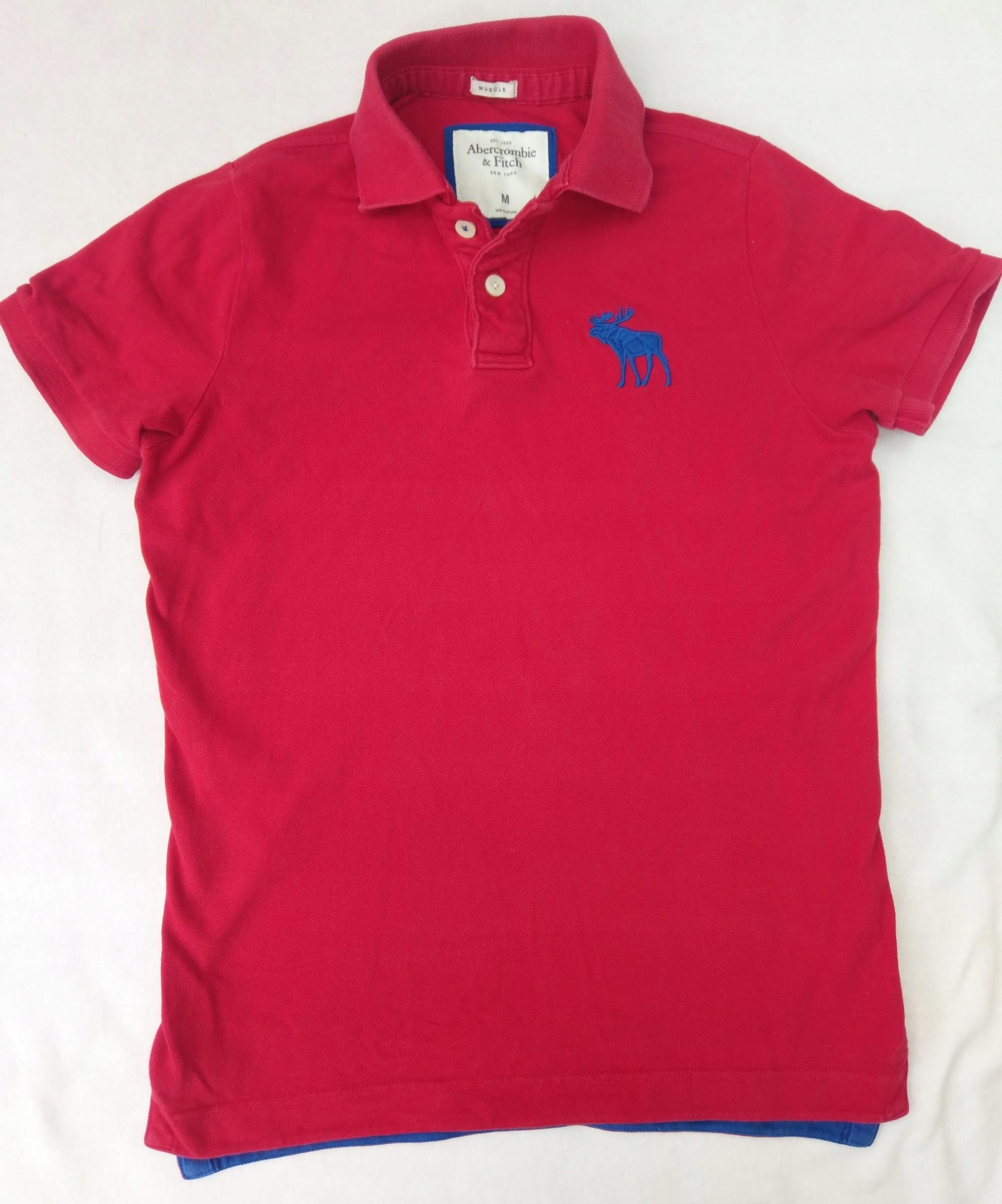 Koszulka polo Abercrombie & Fitch - Muscle