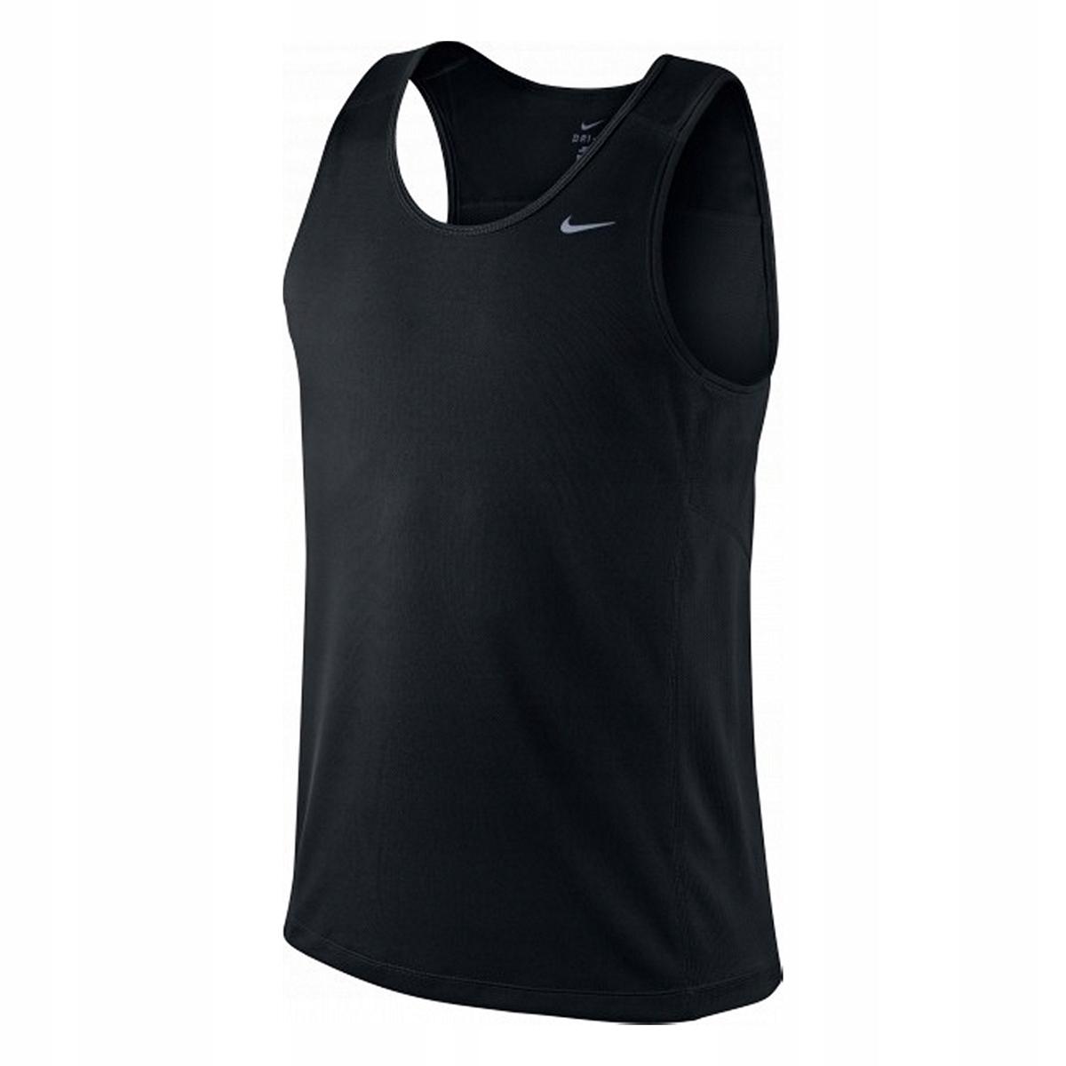 koszulka do biegania męska NIKE DRY MILER TANK AJ7562 833