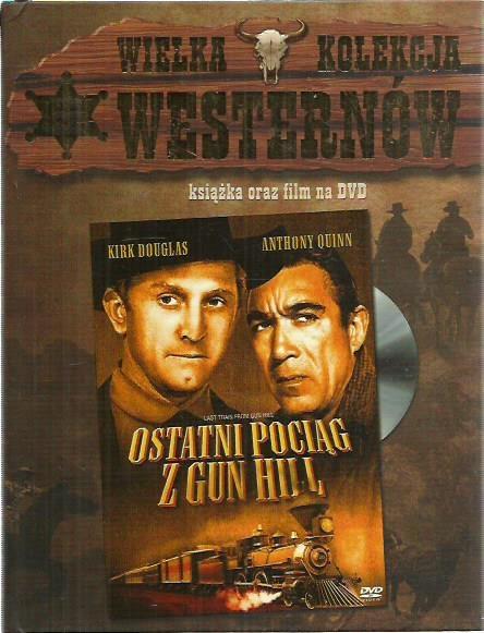 DVD WIELKA KOLEKCJA OSTATNI POCIĄG Z GUN HILL