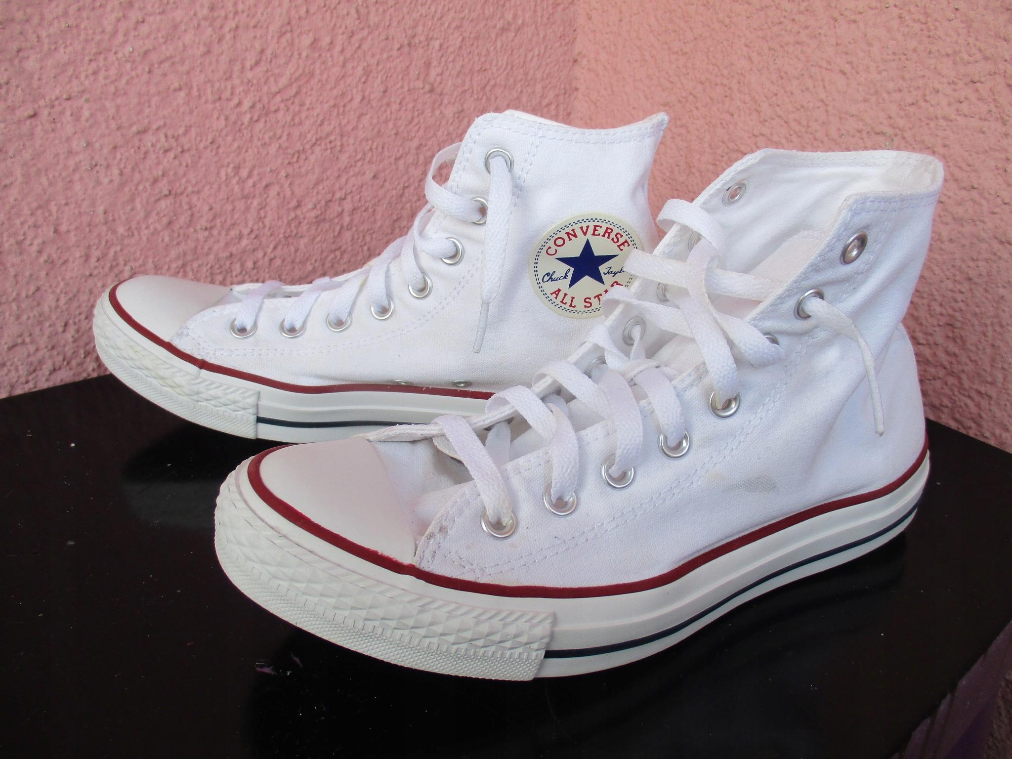 Trampki Converse All Star białe hit r. 41,5