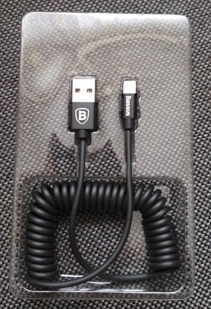 Kabel przewód BASEUS lightning elastyczny 1,6m