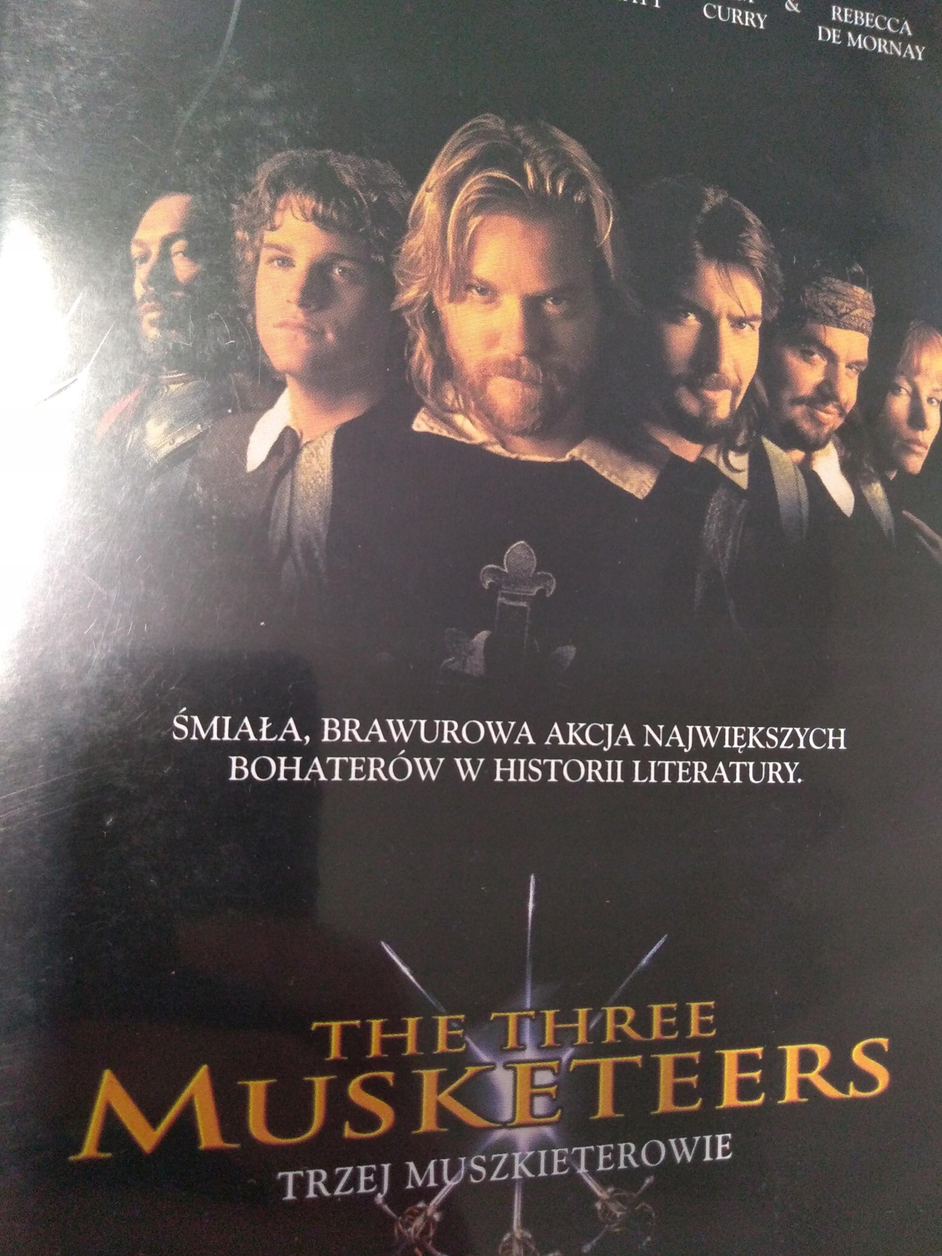 TRZEJ MUSZKIETEROWIE DVD F78