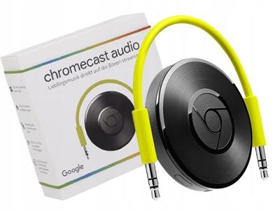 GOOGLE Chromecast AUDIO Transmiter Dźwięku WiFi