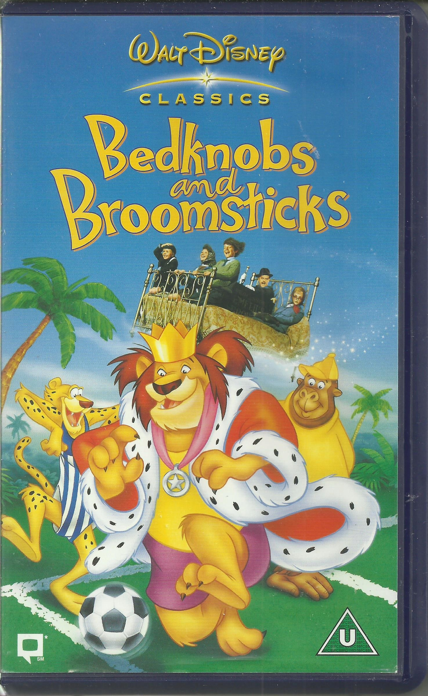 Bedknobs And Broomsticks Gałki Od łóżka I Vhs