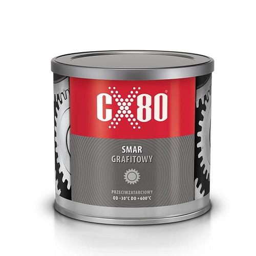 CX80 SMAR GRAFITOWY PRZECIWZATARCIOWY 500G