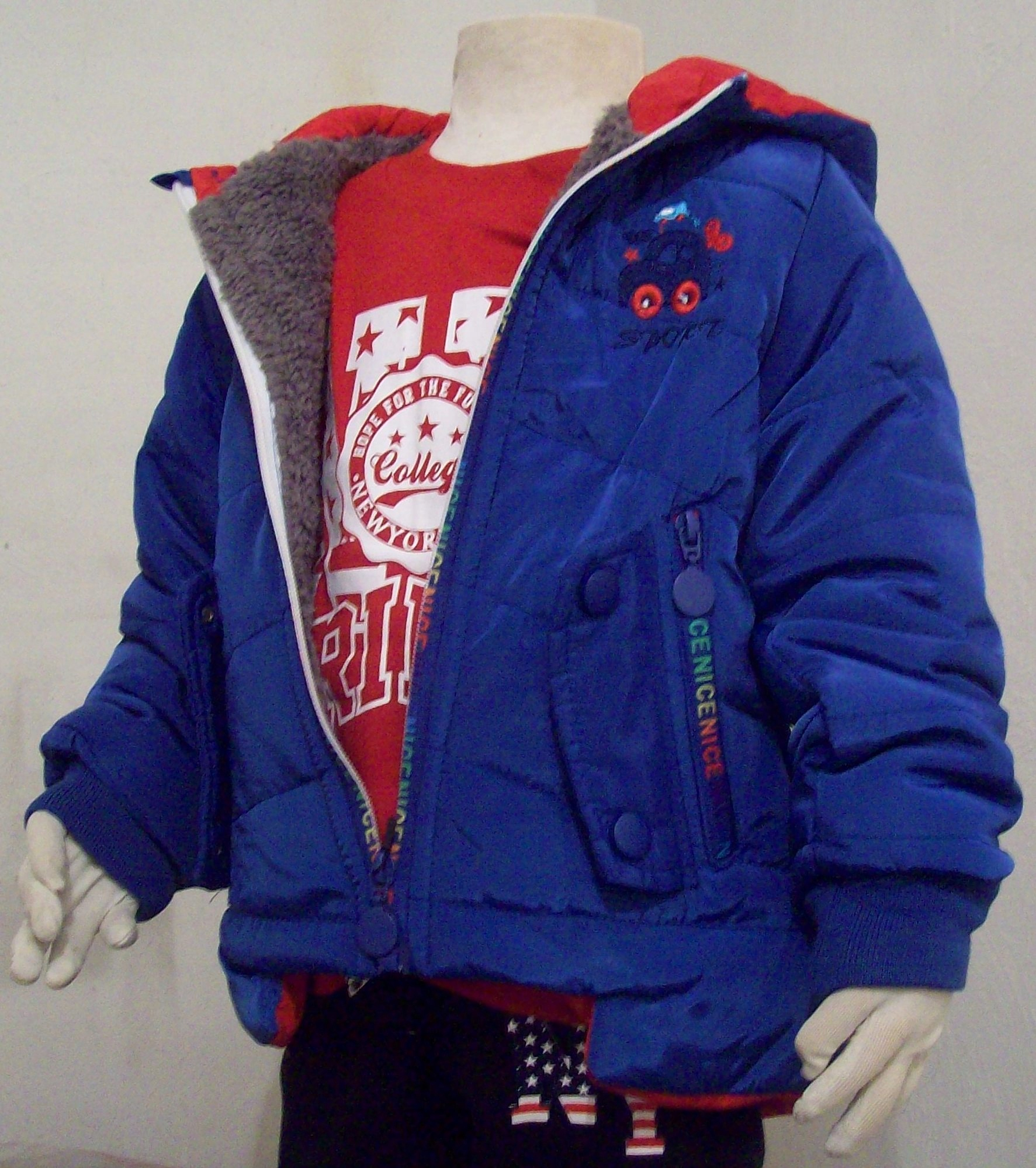 kurtka dziecięca dla chłopca 30 m-cy