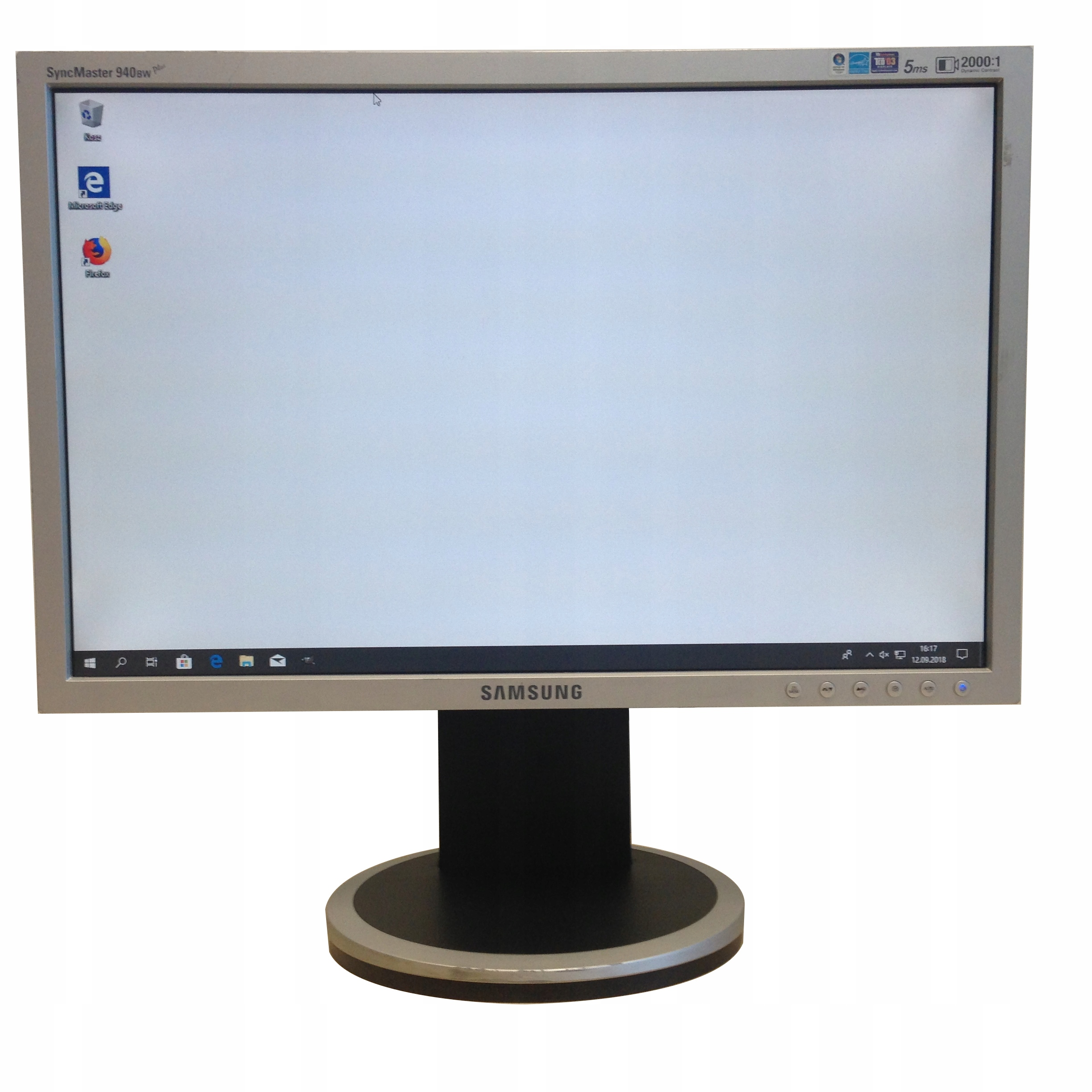 MONITOR SAMSUNG 940BW PLUS 19'' LCD 1440x900
