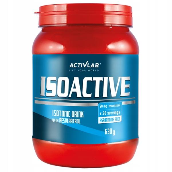 Activlab Isoactive - 630g zielona herbata cytryna
