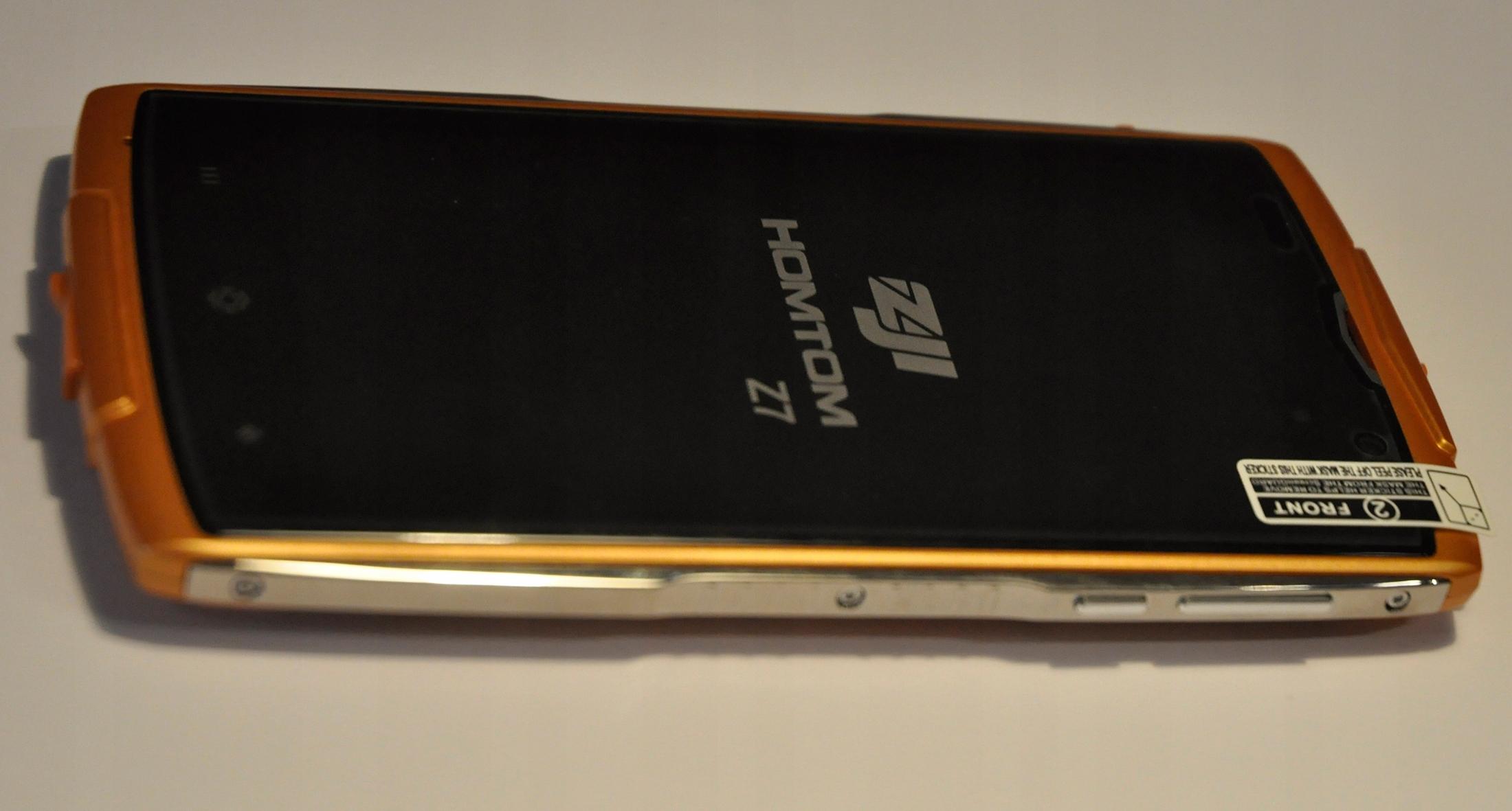 Homtom Zoji Z7 2GB/16GB Nowy Komplet Pomarańcz