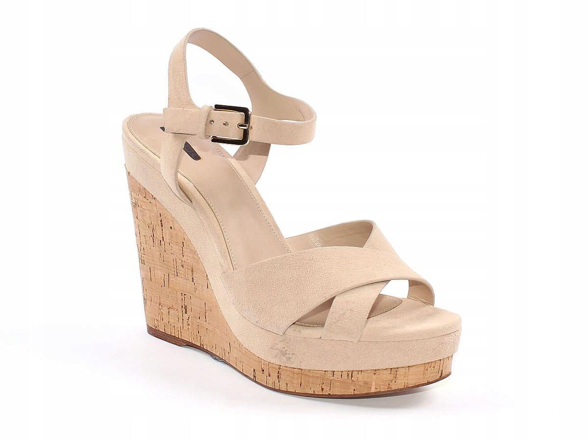 Sandały damskie Aldo z naturalnej skóry 41