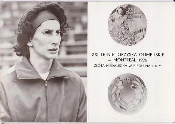 Irena Szewińska Montreal 1976r kk 361