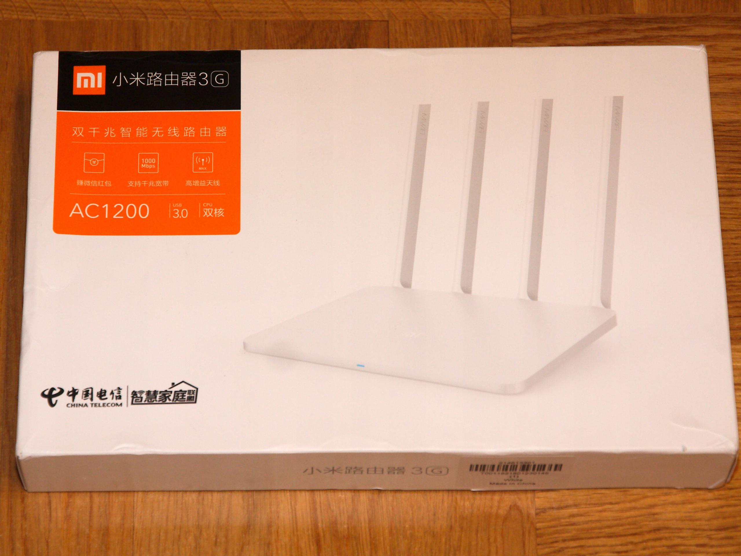 Xiaomi Mi Router 3G 2 4GHz 5GHz 1000Mbit OpenWrt!