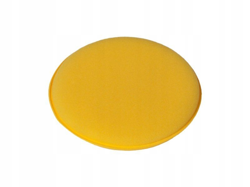 Shiny Garage Yellow Wax Applicator Okrągły gąbkowy