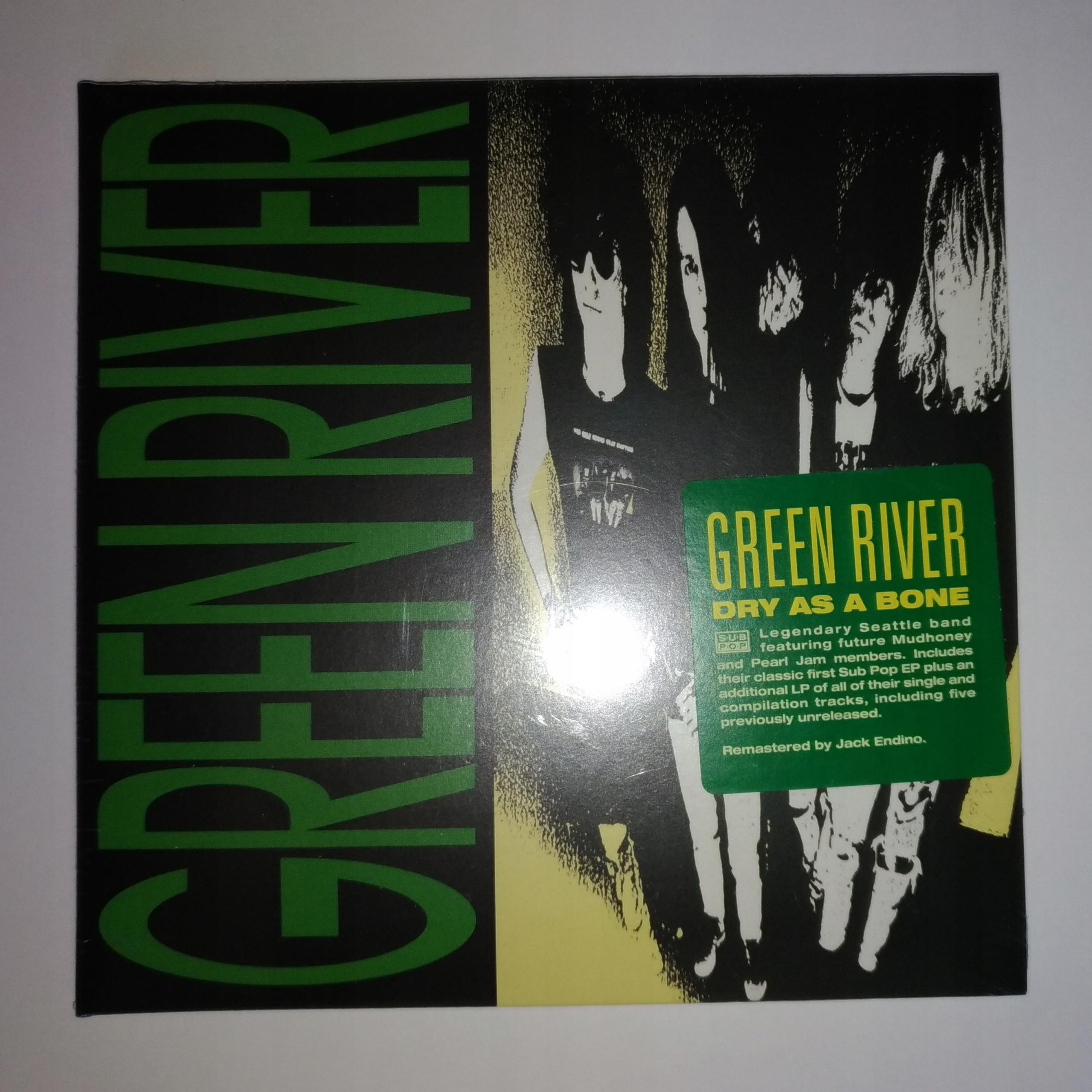 Green River Dry As A Bone Cd 2019 Gf Sub Pop