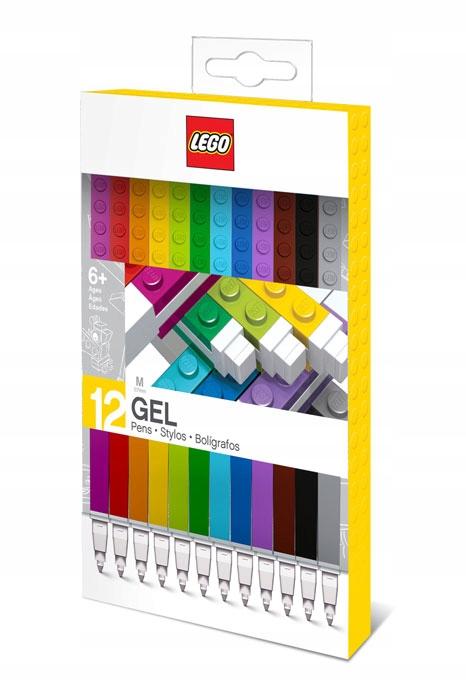 LEGO 51639 Długopisy Żelowe 12szt WARSZAWA