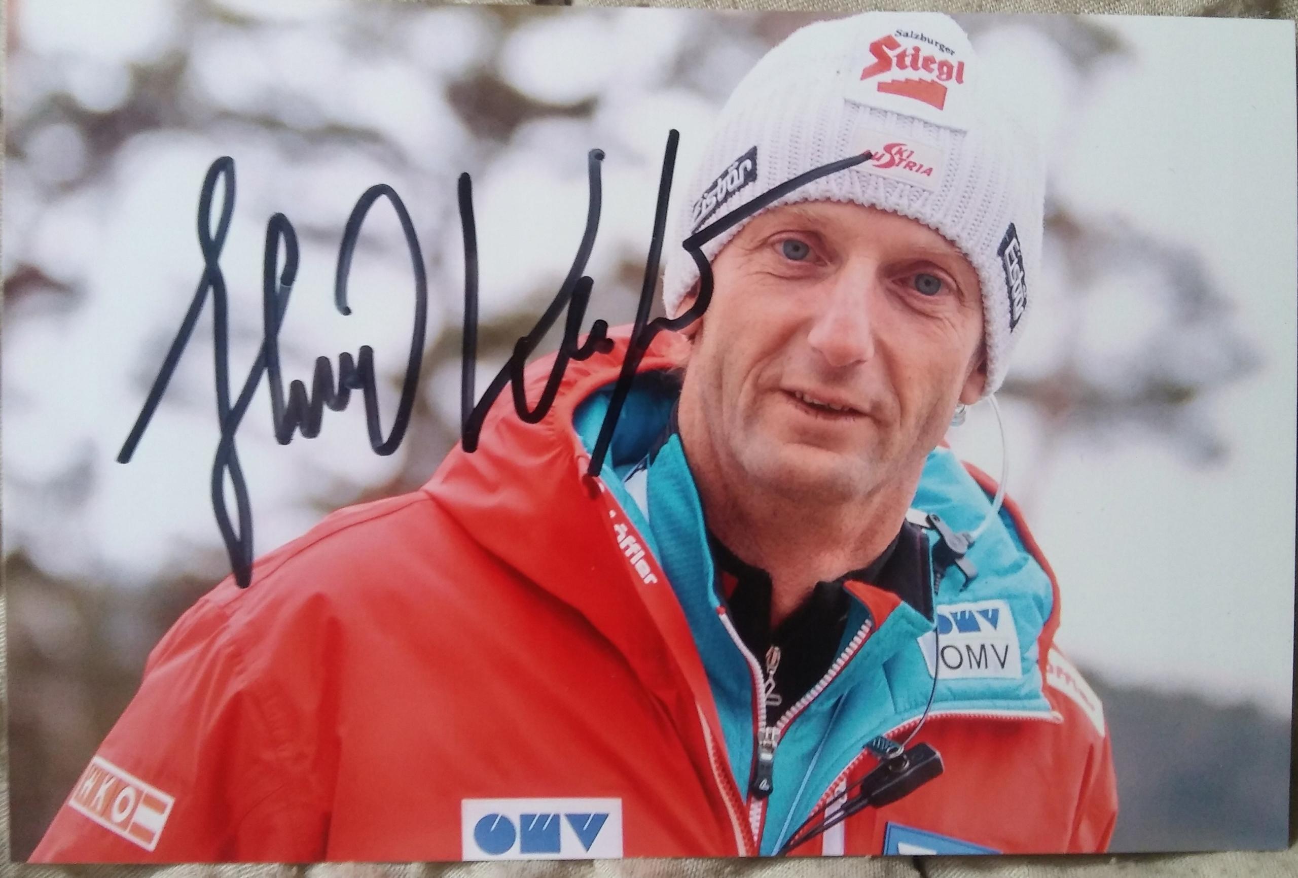 HEINZ KUTTIN - zdjęcie z autografem