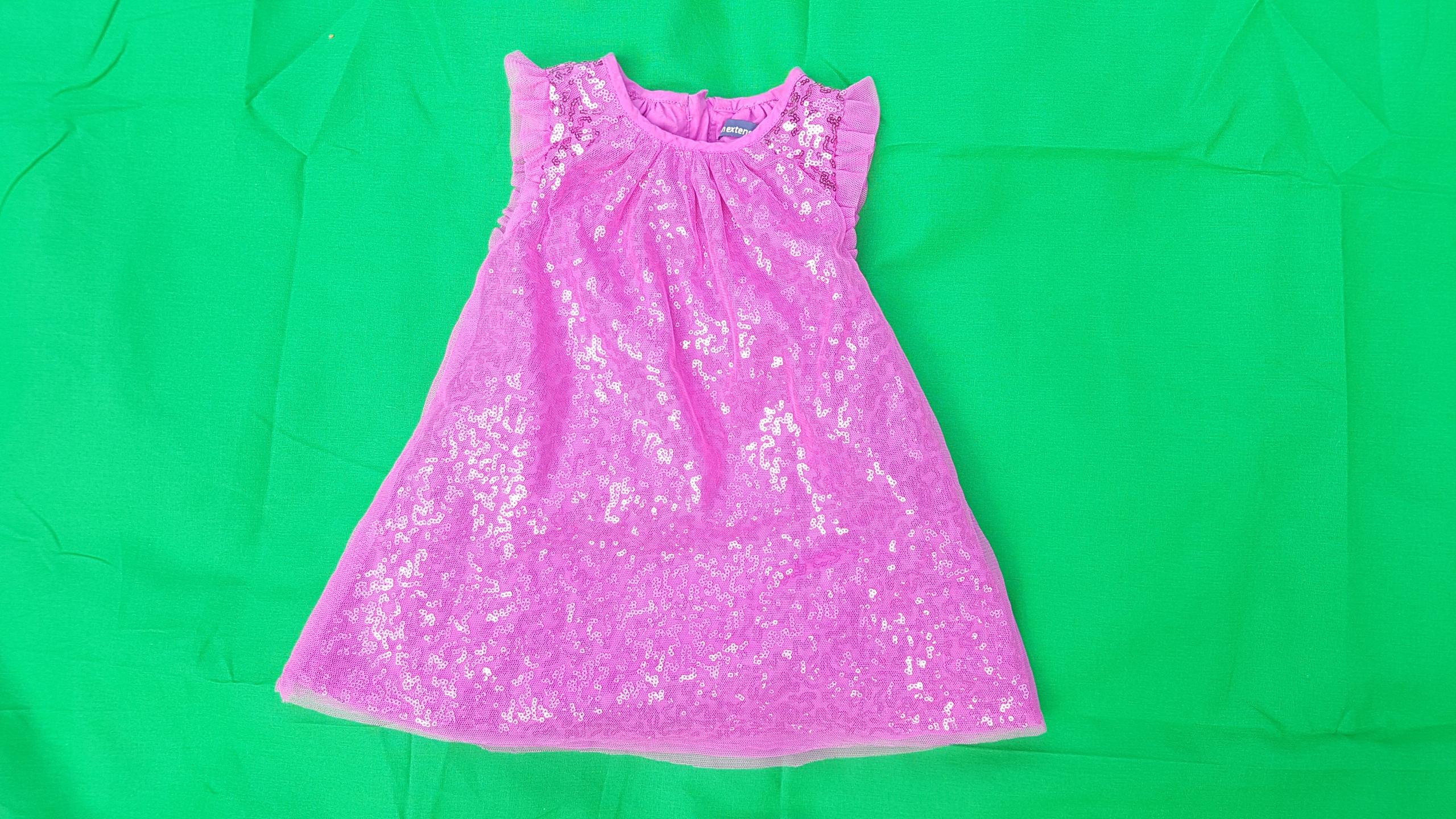 Różowa sukieneczka dla dziecka 80