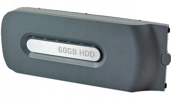 Dysk twardy Xbox 360 FAT 60Gb Oryginalny AHS