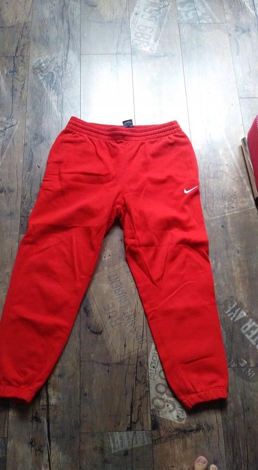 spodnie dresowe nike rozmiar S/ M / L wymiary opis