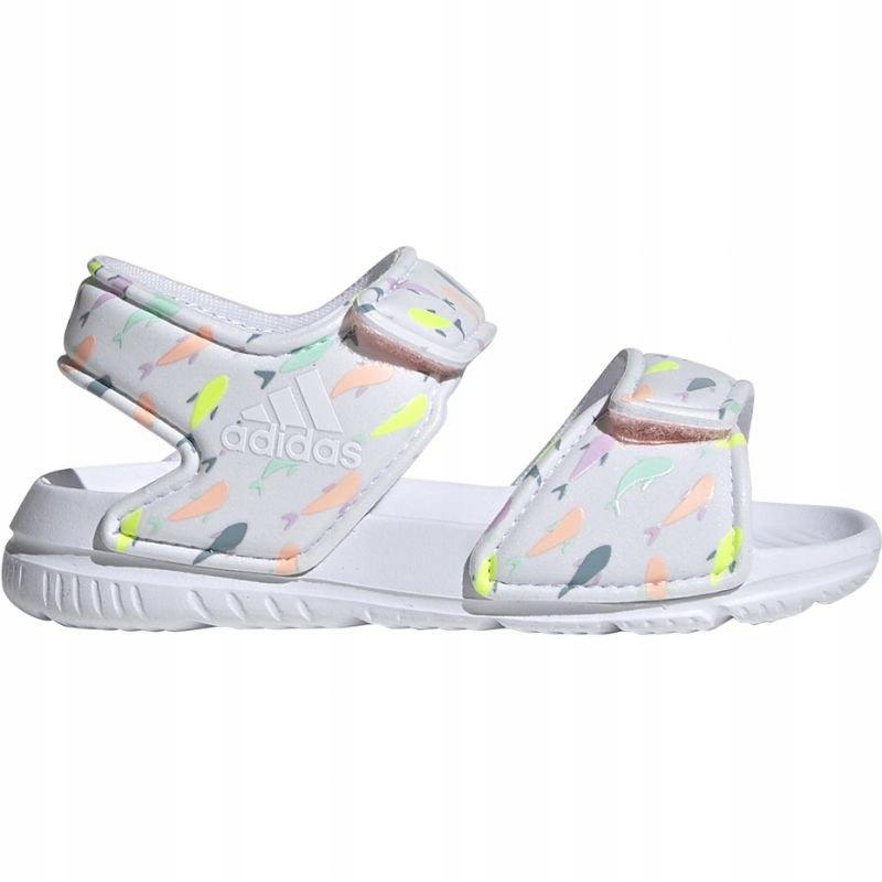Adidas Sandałki dziecięce Dla dzieci Białe r.26