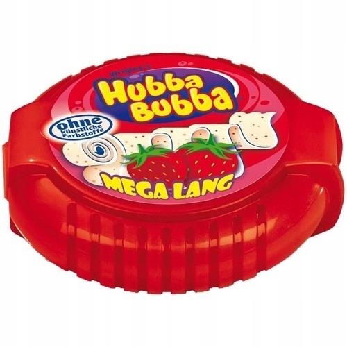 Hubba Bubba truskawka guma do żucia z Niemiec 1,8m