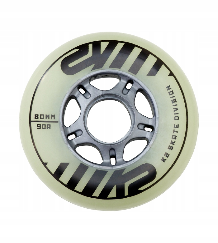 Kółka K2 80 MM FREERIDE GLOW WHEEL 4-PACK 2019