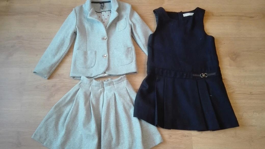 marynarka spódnica sukienka do szkoły 110-116!