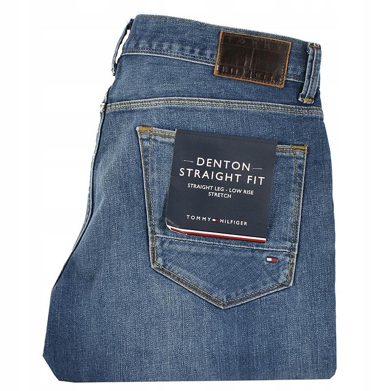 Spodnie Tommy Hilfiger Cascade Indigo Jeans 35/36